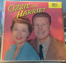 OZZIE & HARRIET Soundtrack LP Signed by RICKY NELSON Autograph JSA COA Teen