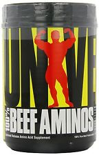 Universal Nutrition Beef Aminos 100% - 200tablets. Beef Amino Acid Protein - P&P