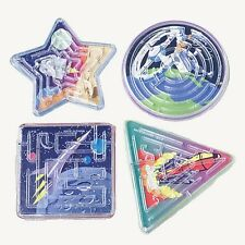 12 Space Maze Games Party Favor Ship Alien Moon UFO