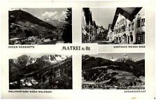 Matrei am Brenner AK ~1950/60 Gesamtansicht Maria Waldrast Gasthaus Weisse Rose