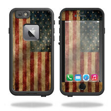 Skin Decal Wrap for Lifeproof Fre iPhone 6 Plus / 6S Plus Vintage Flag