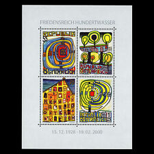 Austria 2008 - Birth of Friedensreich Hundertwasser Art Painting - Sc 2173 MNH