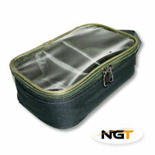 NGT Carp Coarse Fishing Tackle 3-Way Lead Weight Bag + Clea