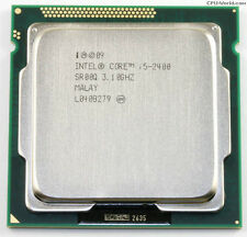 Intel Core i5-2400 Quad-Core Processor 3.1 GHz 6 MB Cache LGA 1155 2nd Gen.