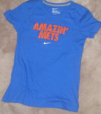 NEW MLB NY New York Mets Amazin Mets T Shirt Women Ladies L Large FITTED NEW NWT