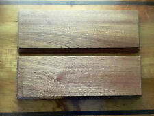 12 x 4 x 3/4 floating shelves, handmade from kiln dried mohagony wood,set of two