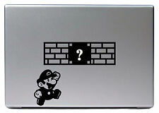 "Apple MacBook Air Pro 13"" SUPER MARIO BROS Game Spiel Sticker Skin Decal 262"