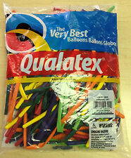 Qualatex Carnival Assortment 260Q Entertainer Balloon 100 ct.