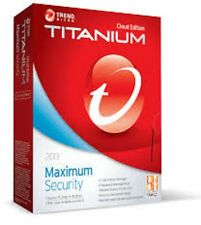 Trend Micro Titanium Maximum 10 2016 1 Year 3 Users