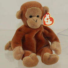 TY Beanie Baby - BONGO / NANA? the Monkey (3rd Gen Hang Tag - MWNMTs)