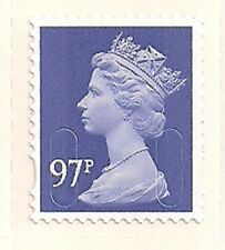 2014 GB QEII ROYAL MAIL 97P MACHIN SINGLE STAMP M14L CODE SG U2930A-1 DLR MNH