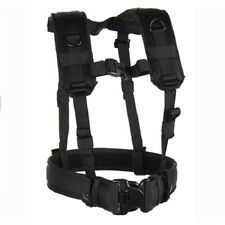 New! Blackhawk Load Bearing Suspenders/Harness Black Model# 35LBS1BK