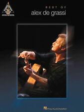 Alex De Grassi Best Of Guitar Recorded Versions Tab Book NEW!