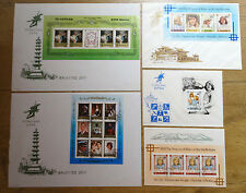 FDC 5 x Diana Princes of Wales Republic of Korea Collection Ersttagsbriefe
