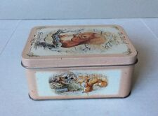 "Vtg 1997 SERIES BEATRIX POTTER ""The Tale of Squirrel Nutkin1903"" Tin Empty Box"