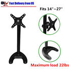 "Single Monitor Fully Adjustable Desk Mount Stand / For 1 LCD Screen up to 27"" BP"