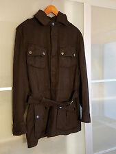 Authentic Gucci Men's Wool Peacoat Jacket Coat sz EU 48 / US Medium. Italy