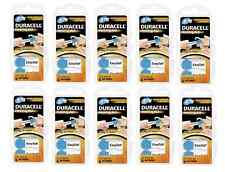 60x BATTERIA Apparecchi Acustici 675 BLU DURACELL ACTIVAIR Made in Germany 10x 6er BLISTER