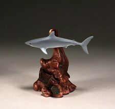 MAKO SHARK Statue New direct from JOHN PERRY 7in tall Sculpture