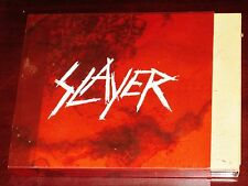 Slayer: World Painted Blood Deluxe Limited Edition CD DVD 2009 Slipcase Digipak