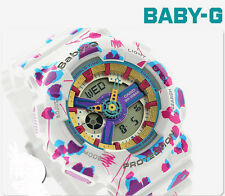 CASIO Baby-G BA-110FL-7A Flower Leopard Digital Analog Ladies Watch