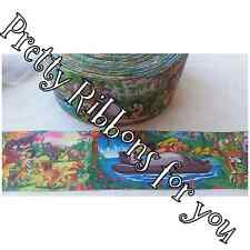 """3"""" wide The Jungle Book high quality grosgrain ribbon 3 yards listing"""