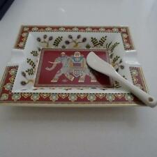 Villeroy & Boch -Germany- Samarkand Rubin Dish - Oriental Inspired Collection