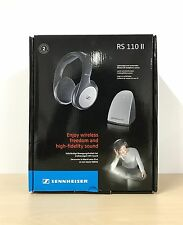 Sennheiser RS 110 II  Wireless Headphones System - Ex demo