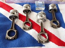 MGB Used Rods Matched Set Balanced New 8.8:1 .060 Pistons Pressed & Grant Rings