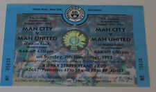 Ticket for collectors Manchester City Manchester United 1993 Cantona Keane Quinn
