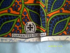 NEW AFRICAN ETHNIC PRINT WAX ANKARA FABRIC MATERIAL CLOTH per YARDS YDS