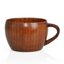 Cute Zizyphus Jujube Wooden Boutique Retro Tea Cups Pot-bellied Coffee Cup Gift