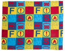 BRAND NEW FIREMAN SAM FLEECE BLANKET 120CM X 150CM