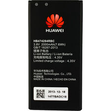 ORIGINAL HUAWEI HB474284RBC AKKU ACCU BATTERY --- Ascend Y550 Y635 G620s --- NEU