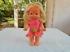 Vintage 1978 Ideal Doll Made In Hong Kong In Original Clothing