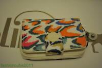 New With Tag Kipling NEW MONEY DELUXE WALLET - Tropical Feather Print