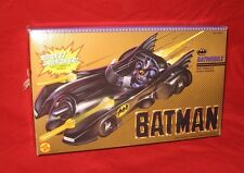 BATMAN 1989 Gold Box BATMOBILE w/ Concealed Rocket Launcher in BOX