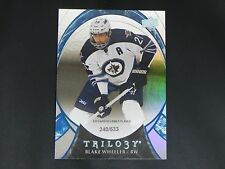 2015-16 UD Trilogy BLUE #88 Black Wheeler Winnipeg Jets / 533