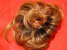 """Tousled Twist Hair Piece 11 Colors Synthetic hairpiece 6"""" Diameter Silky Stylish"""