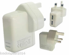 Genuine Dual Main Charger Adapter i-Knot For Samsung Galaxy S5, S5 Mini ,Note 4