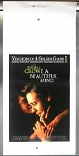 A Beautiful Mind locandina poster Howard Crowe matematico John Forbes Nash