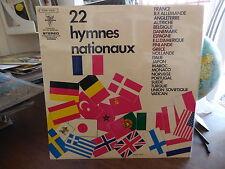 22 hymnes nationaux : musique des équipages de la flotte -  trianon  046-15828