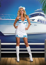 New Sexy Sailor Rockin The Boat Halloween Costume Large Dreamgirl  Pin Up Girl
