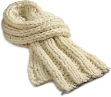 Women's Diesel - 3-Wideout Scarf (White) Ivory Chunky knit $130 NWT Wool Blend