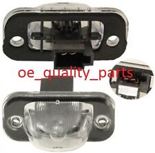 VW GOLF 2 SEAT REAR TAIL NUMBER PLATE REGISTRATION LIGHT LAMP WITH BULB SOCKET