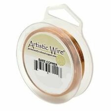 Artistic Wire Bare Copper 22 gauge 15 yards 41115 Round