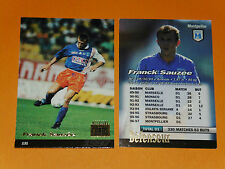 FRANCK SAUZEE SC MONTPELLIER PAILLADE MOSSON FOOTBALL CARD PANINI 1996-1997