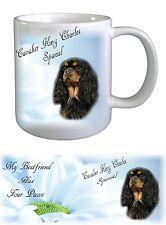 Cavalier King Charles Spaniel Dog Ceramic Mug by paws2print -1