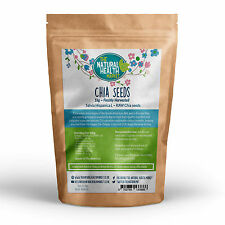 Raw Natural Chia Seeds (1KG) Omega 3 EFA's Weight Loss
