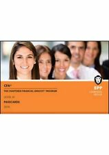 CFA Level 3 Passcards by BPP Learning Media 9781472741325 (Spiral bound, 2016)